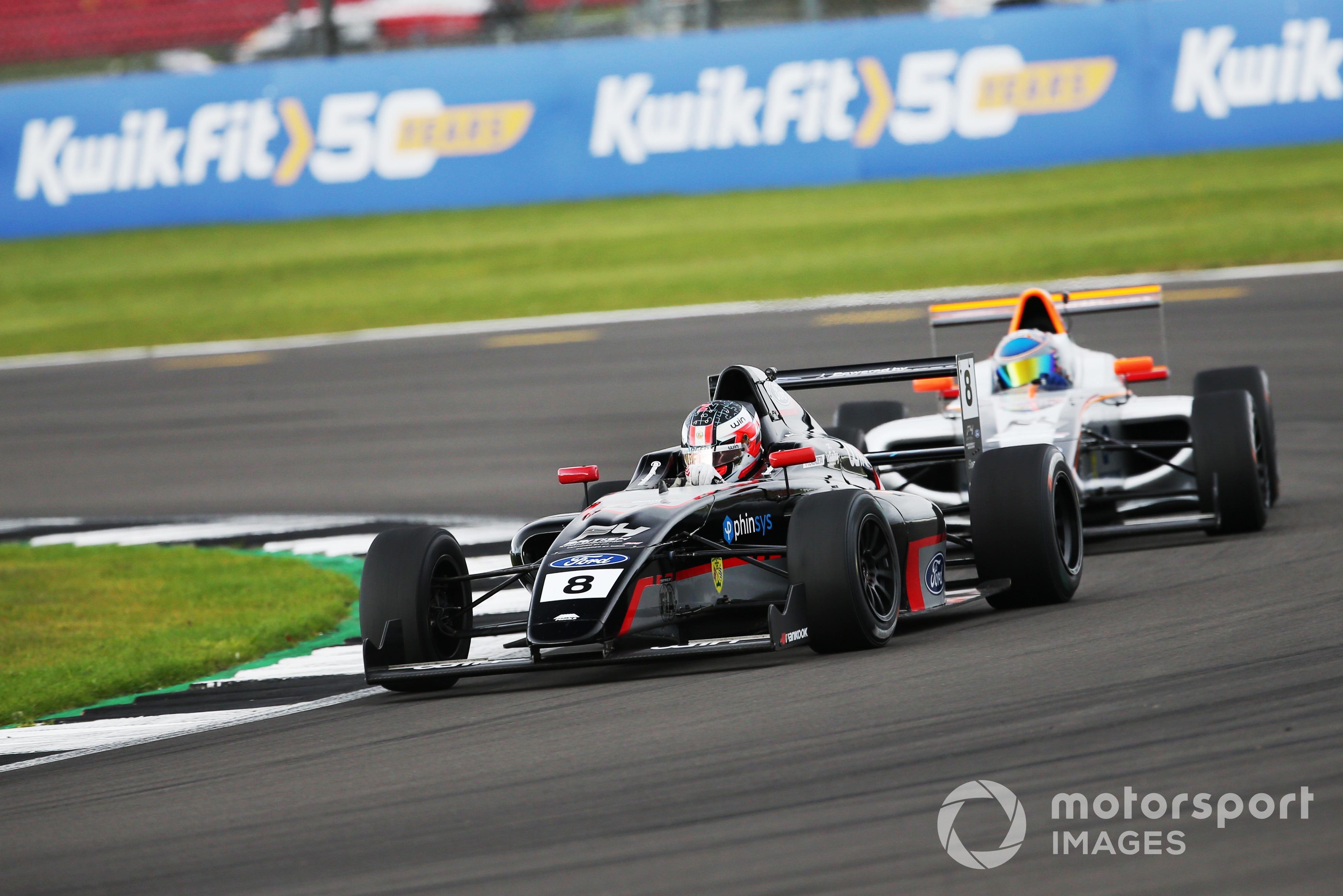 Matias Zagazeta, British F4, Silverstone 2021