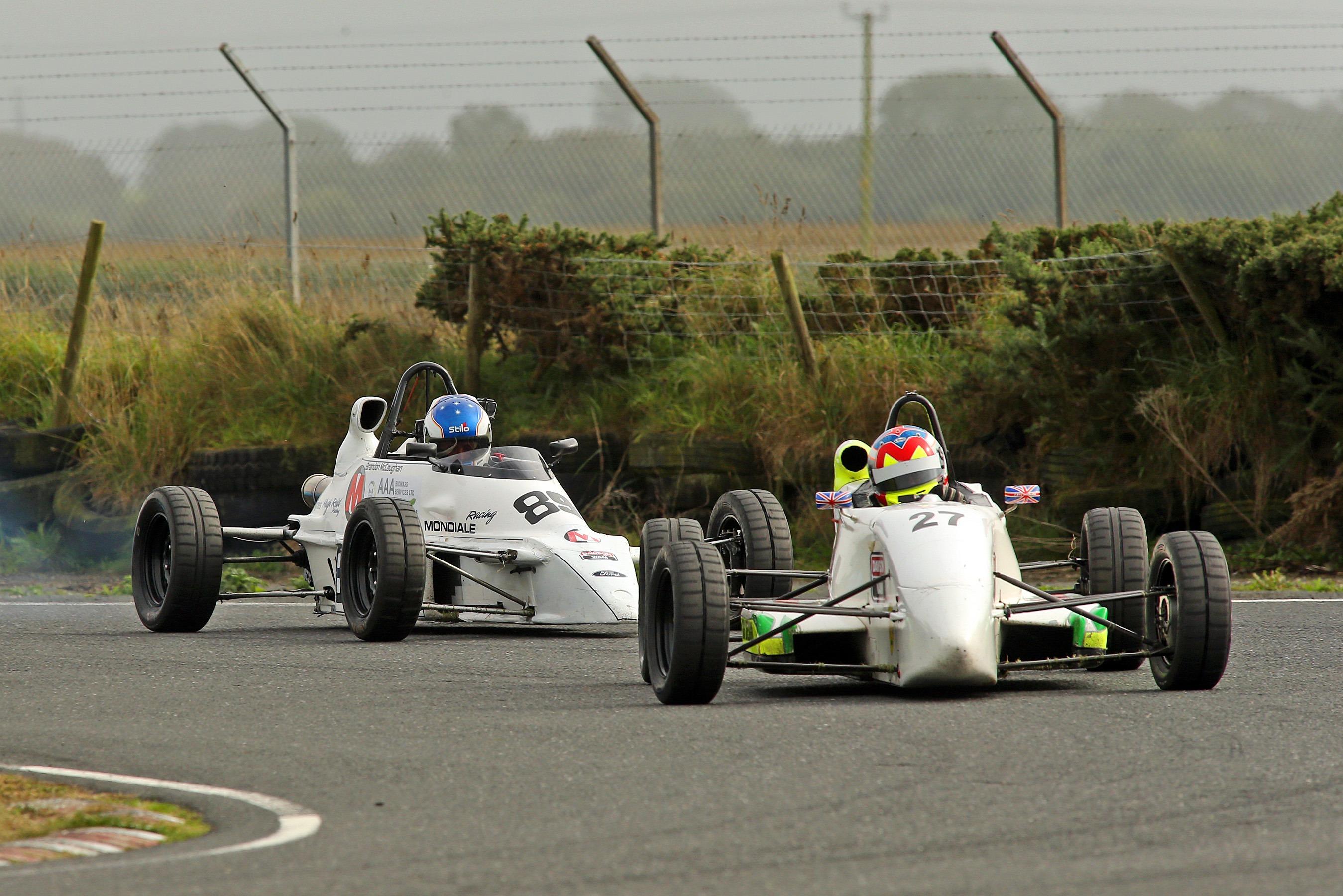 Ivor McCullough (Van Diemen RF01), Martin Donnelly Trophy, Kirkistown 2021