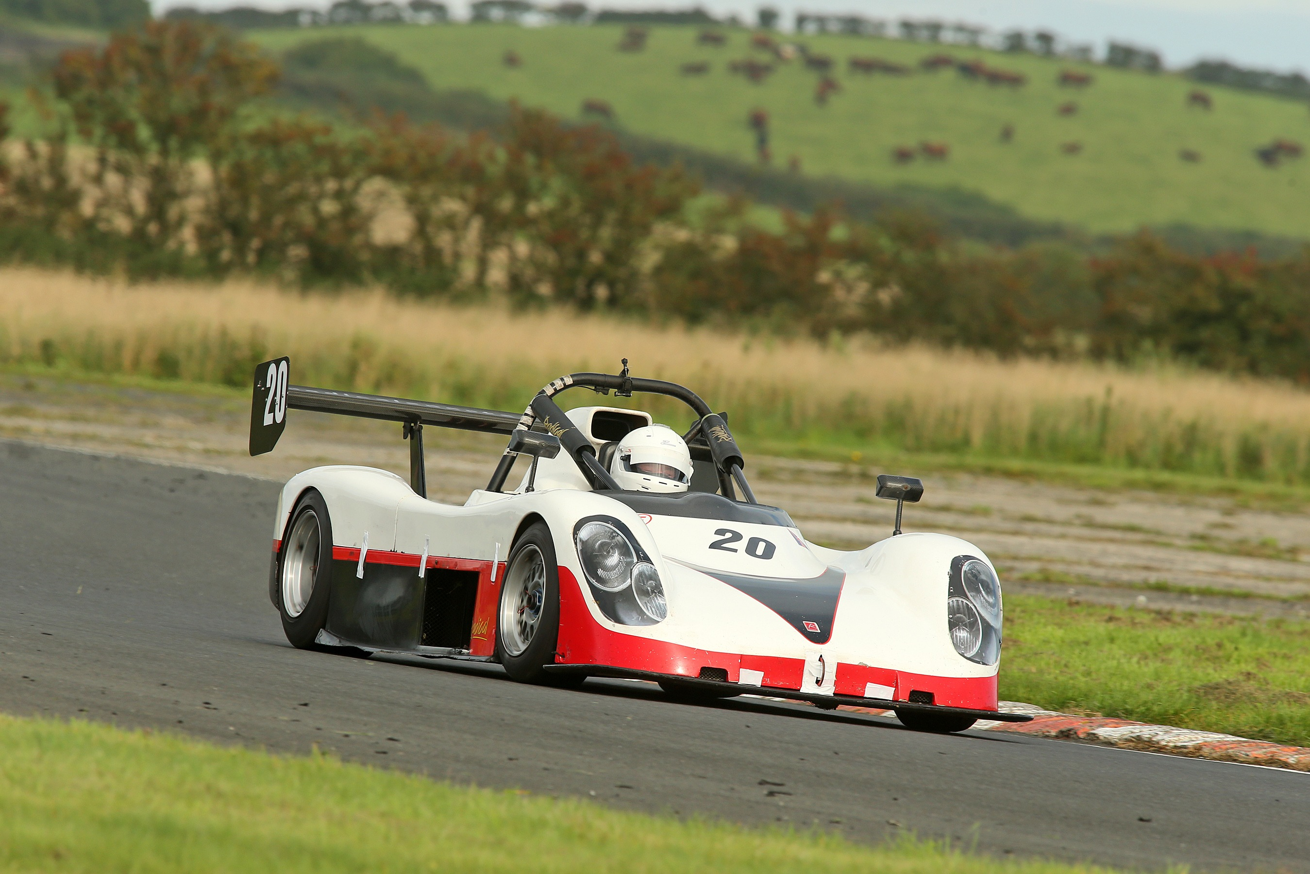 Roadsports race winner Jim Larkham