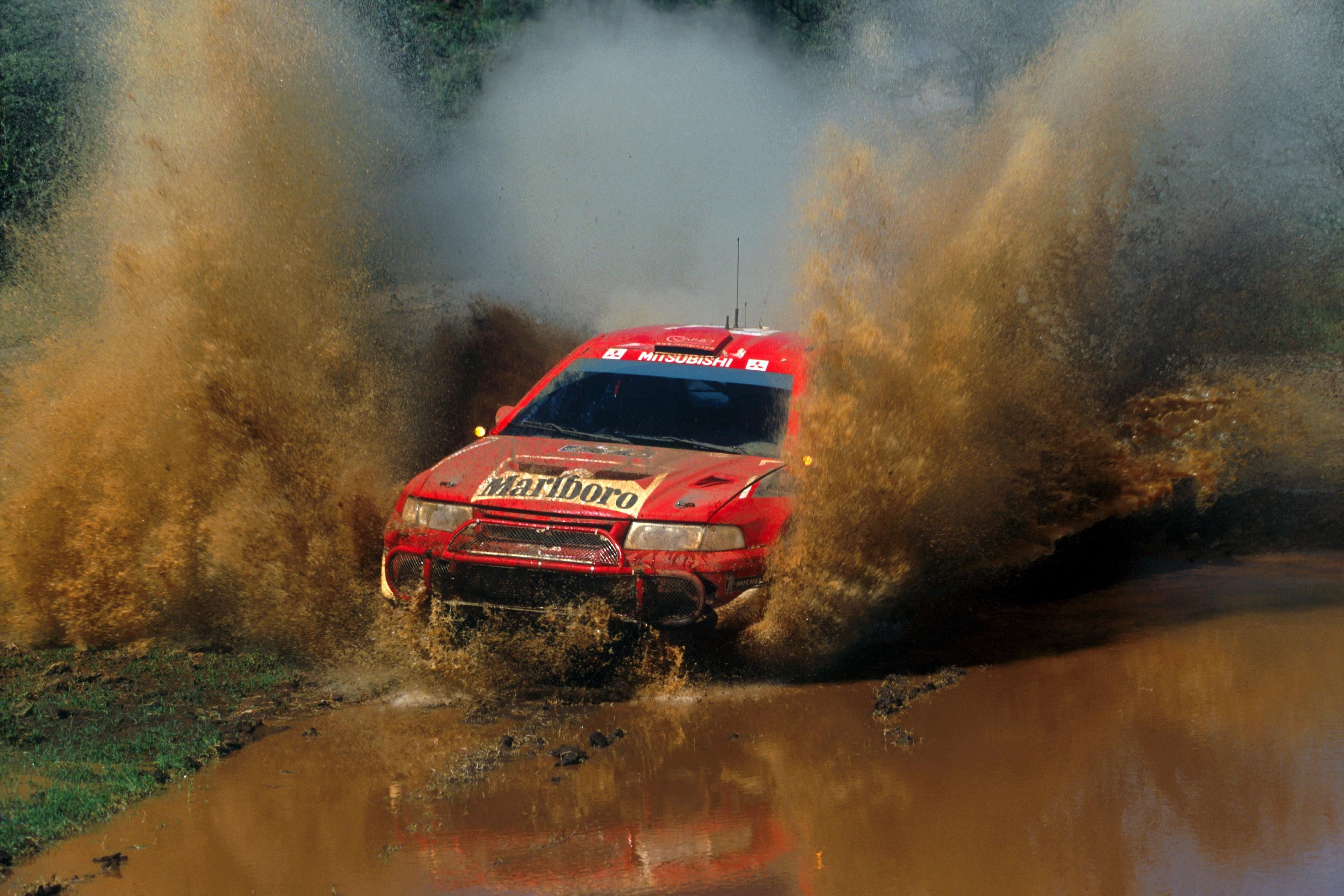 The final win for the Makinen and Mitsubishi axis came on the 2001 Safari before his title campaign collapsed