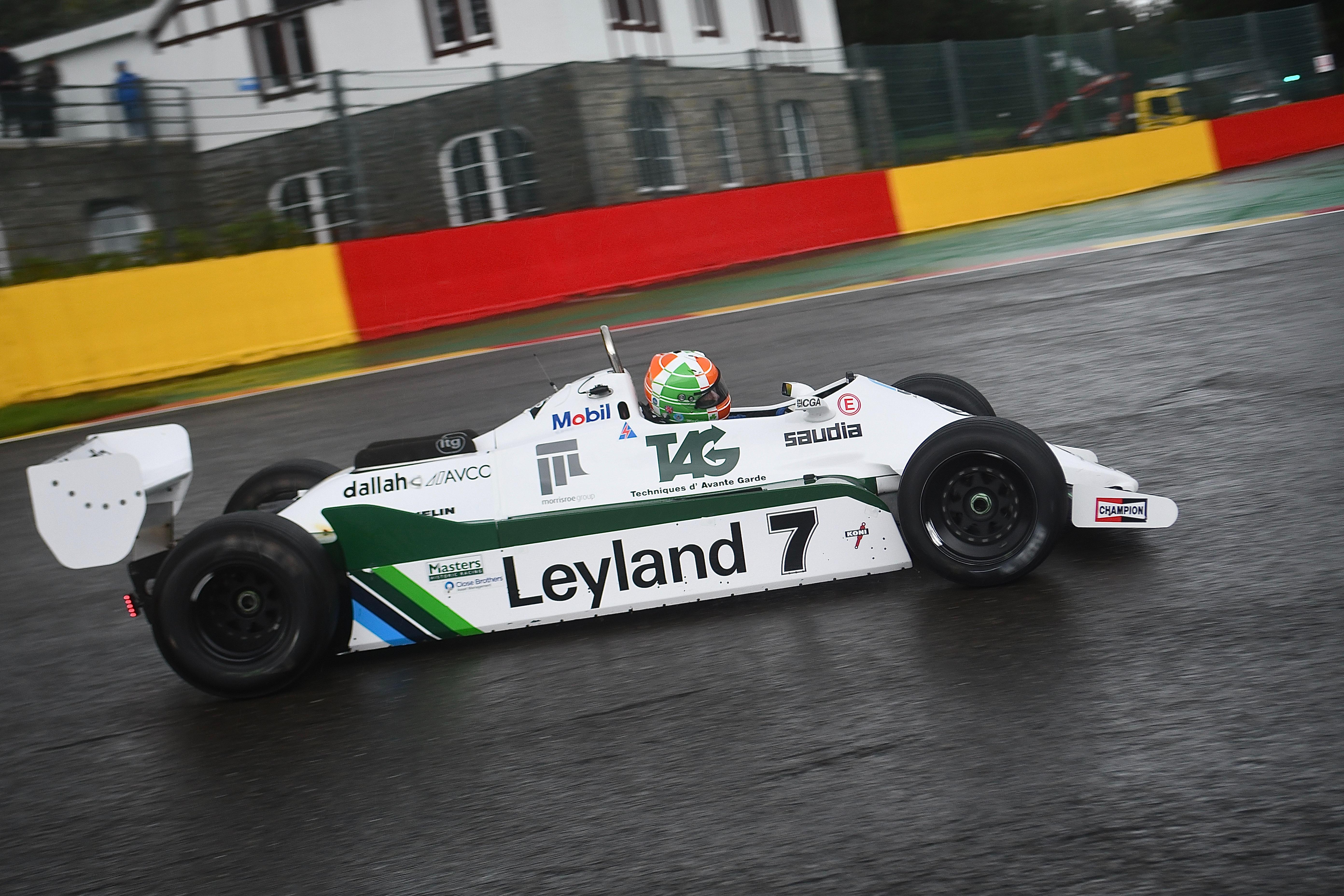 Michael Cantillon (Williams FW07C) Spa-Francorchamps, 2021