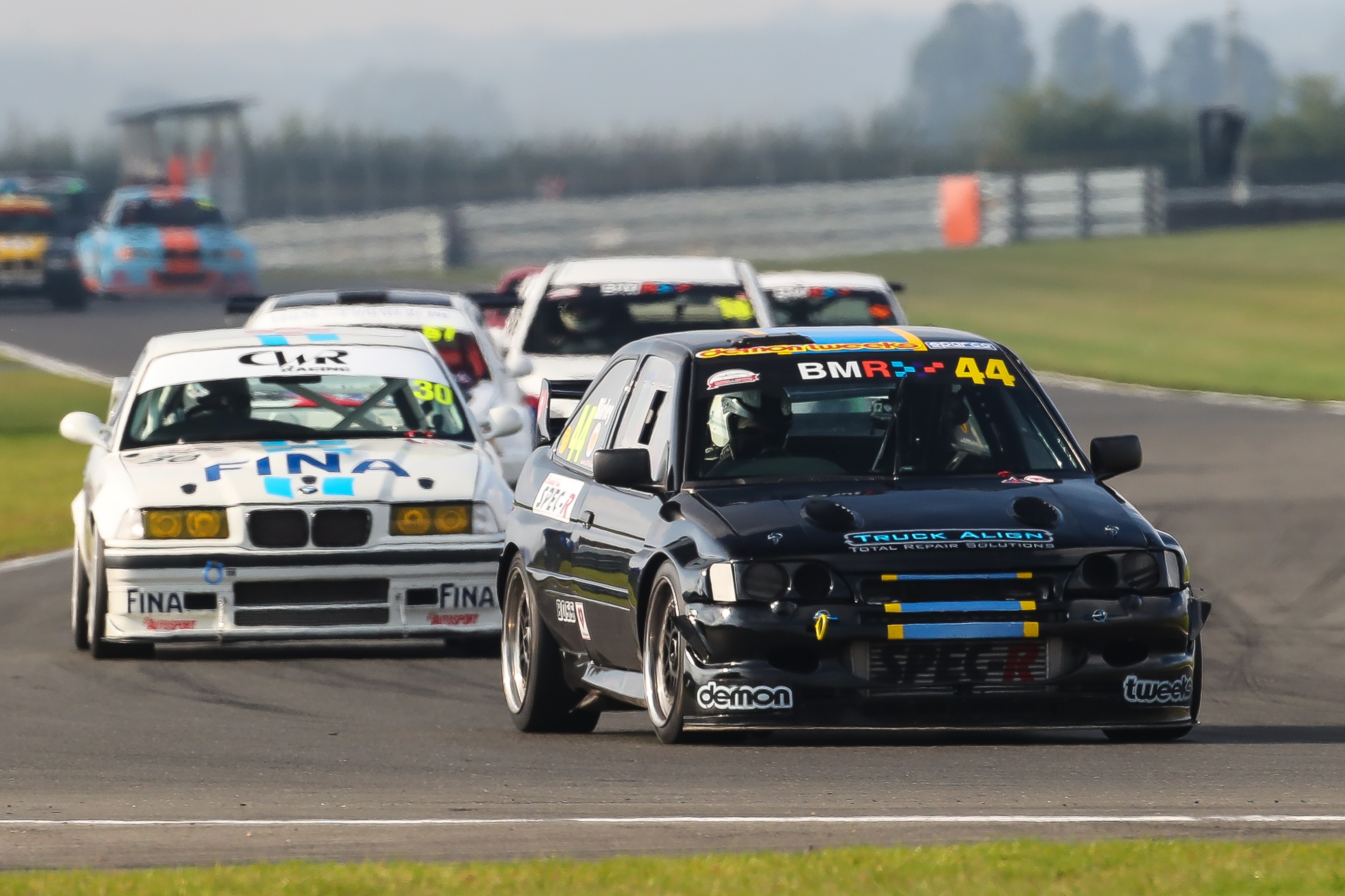 Victory for Birley in CMMC Super Saloons at Snetterton propelled him up to ninth