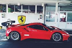 Álex Riberas Ferrari ALMS