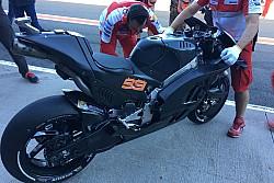 Debut Lorenzo Ducati