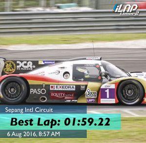 Fastest Lap Ever at Sepang - Asian LeMans Sprint Cup