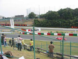 M. Schumacher on the fast lap