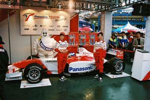 Panasonic Toyota Racing at Suzuka 2003