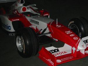 Toyota TF102, Panasonic Toyota Racing