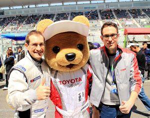 FSC Motorsport mascot at Suzuka