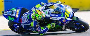 Valentino Rossi Grand Prix de France 2016