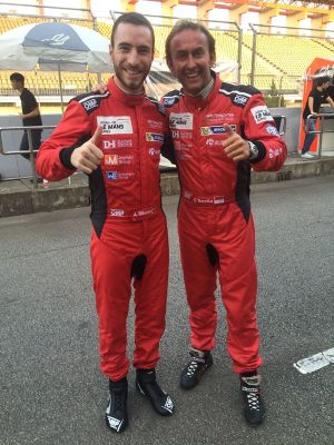 Alex Riberas y Olivier Beretta en Zhuhai