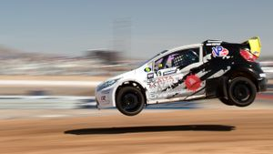 2016 Global Rally Cross Air Time