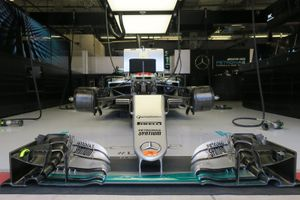 Voorvleugel van Lewis Hamilton