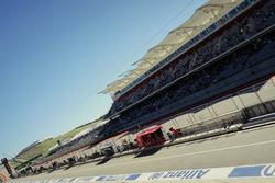 Formule 1-actie op het Circuit of the Americas