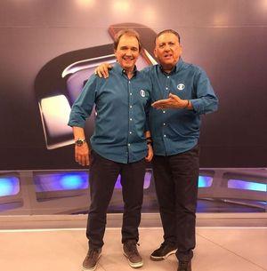Reginaldo Leme e Galvão Bueno (Instagram)