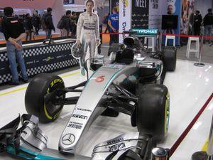 Mercedes AMG Petronas F1 W07 Hybrid