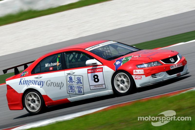 Car #8 Michael Choi