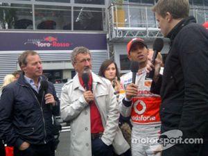Lewis Hamilton Interview
