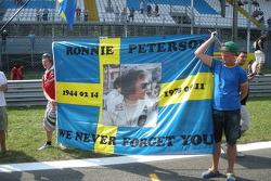 Fans remember Ronnie Peterson