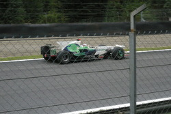 Jenson Button with Honda