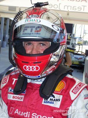 Audi LMP Driver Dindo Capello