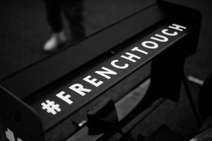 FSC Motorsport rear wing labeled #FrenchTouch