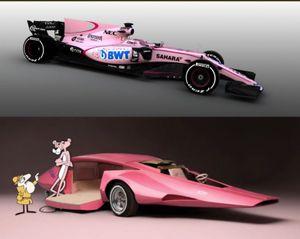 Sahara Force India VJM10 rosa