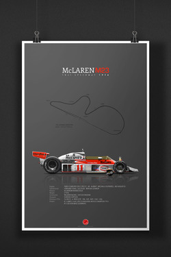 McLAREN-FORD M23 James Hunt 1976 Fuji Speedway