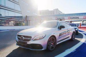 Mercedes AMG taxi rides