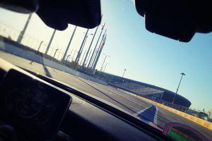 Mercedes AMG taxi ride