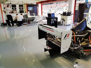F1 two-seater garage