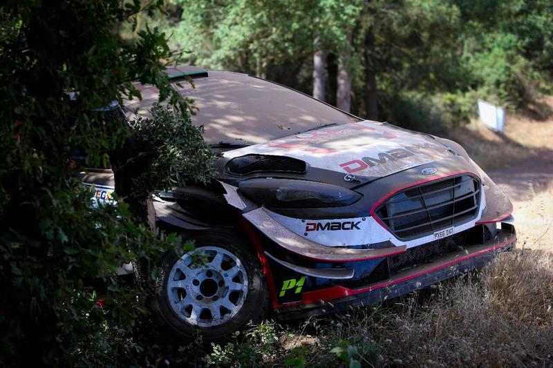 Ford Fiesta WRC Элфина Эванса, M-Sport