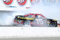 Clint Bowyer Burnout