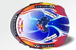 Mark Webber Helmet Design Singapore