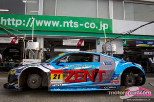 Audi R8 LMS Super GT car of Cyndie Allemann