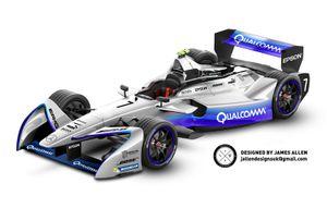 Mercedes Formula E 2019 Concept