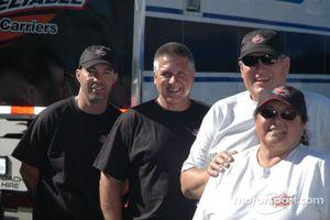 Mike Humphries, Eddie Pearson, Dave & Sue Lewis