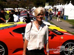 Racers Drive's Ellie Cesario at the Concorso Italiano