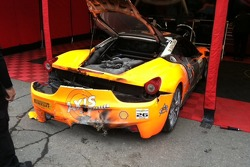 Carlos G's car after race #1