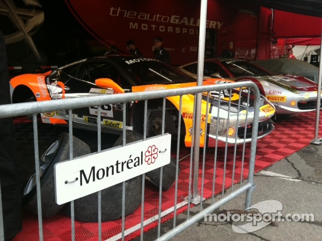 Even the barriers are cool in Montreal