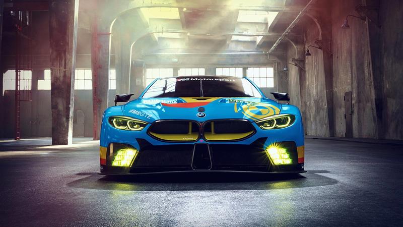 Фэнтези-ливрея BMW M8 GTE