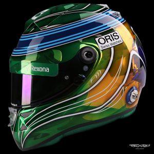 Шлем Фелипе Массы на Гран При Абу-Даби