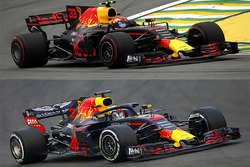 Comparación Red Bull Racing 2017-2018