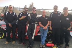 Anthony Giannone, engine builder Lee Schwartz & the K&N West AMG team