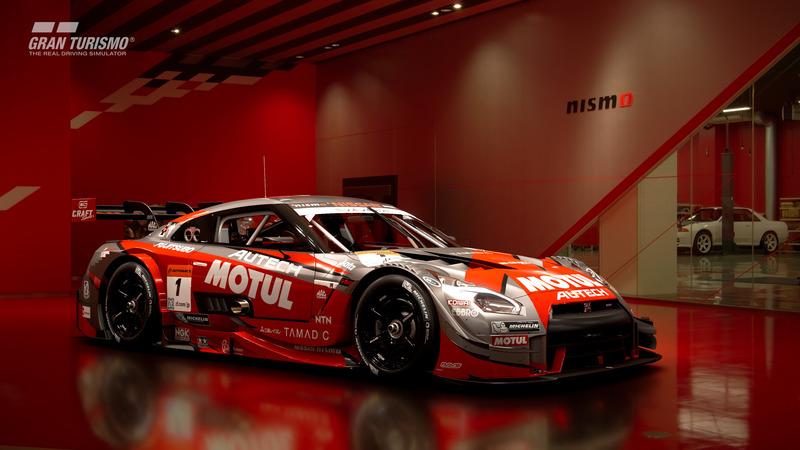 Nissan MOTUL AUTECH GT-R '16 (GT500) (Gr.2)