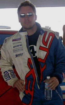 Team Lexus driver Troy Hanson