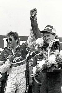 Tim Richmond with Dale Earnhardt