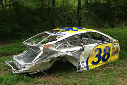 Dale Earnhardt Jr.'s car graveyard