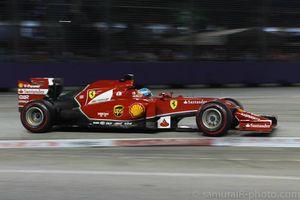Fernando Alonso F1 Singapore