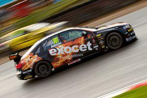 Rob Austin's Audi passed Adam Morgan's Trapped Merc